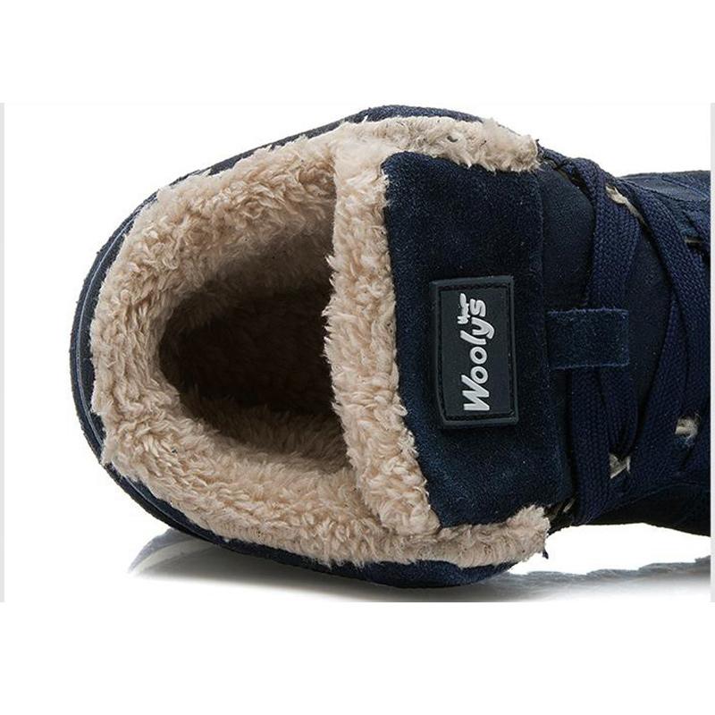 Męskie sportowe buty zimowe mutlum